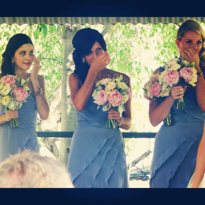 bridesmaids emotional